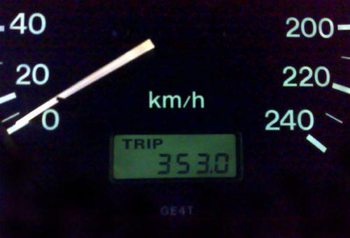 35 mil på en vecka i april